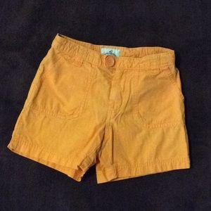Orange old navy shorts size 12 slim